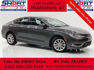 2015 CHRYSLER 200 C for sale in Middlesboro KY