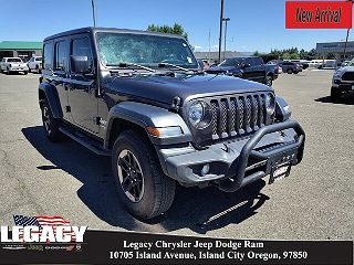2018 JEEP WRANGLER UNLIMITED SPORT for sale in Kellogg ID