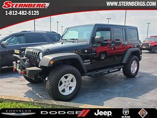 2017 JEEP WRANGLER UNLIMITED SPORT for sale in Washington IN