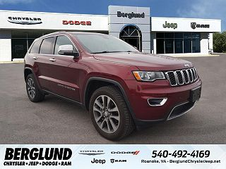 2018 JEEP GRAND CHEROKEE LIMITED EDITION for sale in Roanoke VA